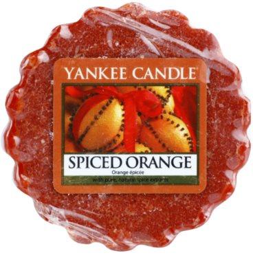 Yankee Candle Spiced Orange cera para lámparas aromáticas