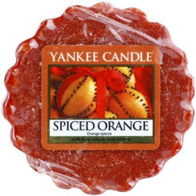 Yankee Candle Spiced Orange Wachs für Aromalampen