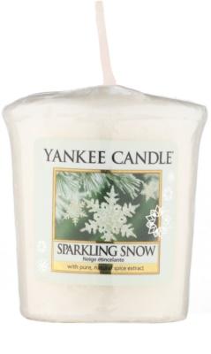 Yankee Candle Sparkling Snow sampler