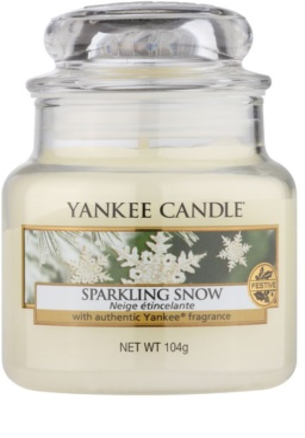 Yankee Candle Sparkling Snow vonná sviečka  Classic malá
