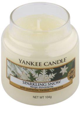 Yankee Candle Sparkling Snow illatos gyertya   Classic kis méret 1