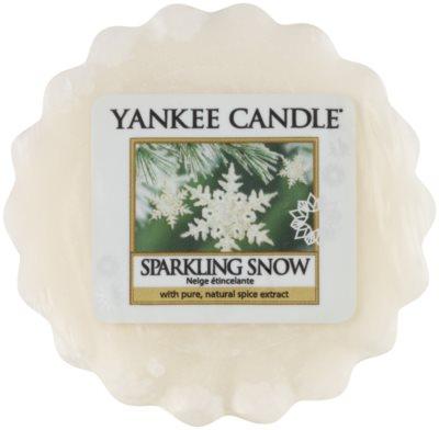 Yankee Candle Sparkling Snow illatos viasz aromalámpába