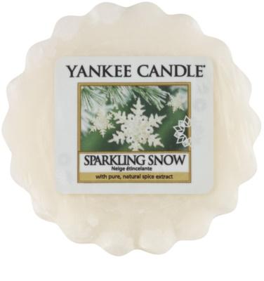 Yankee Candle Sparkling Snow Wachs für Aromalampen