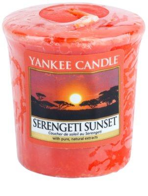 Yankee Candle Serengeti Sunset vela votiva