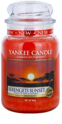 Yankee Candle Serengeti Sunset vela perfumado  Classic grande
