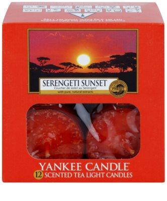 Yankee Candle Serengeti Sunset świeczka typu tealight 2
