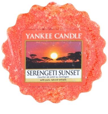 Yankee Candle Serengeti Sunset illatos viasz aromalámpába