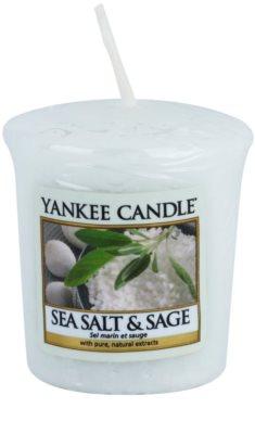 Yankee Candle Sea Salt & Sage votivna sveča