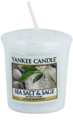 Yankee Candle Sea Salt & Sage votívna sviečka