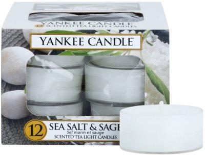 Yankee Candle Sea Salt & Sage чайні свічки