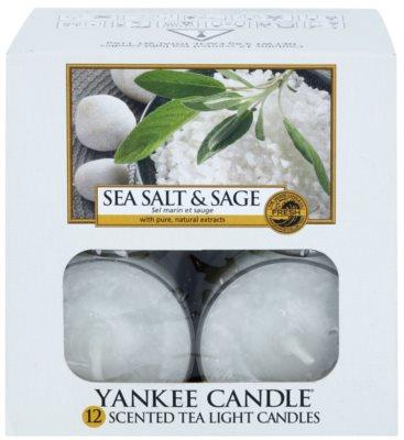 Yankee Candle Sea Salt & Sage vela de té 2