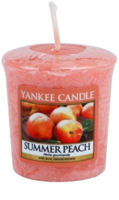 Yankee Candle Summer Peach votivní svíčka