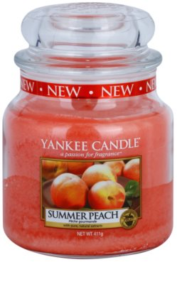 Yankee Candle Summer Peach Duftkerze   Classic groß