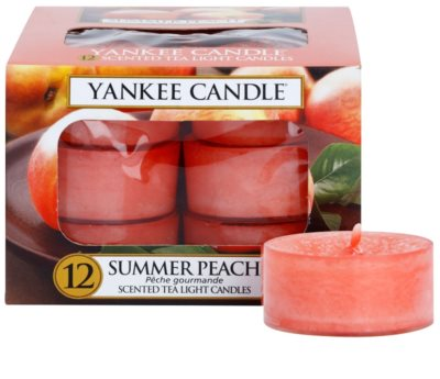 Yankee Candle Summer Peach vela de té