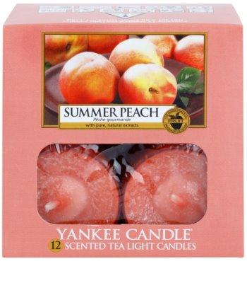 Yankee Candle Summer Peach čajová svíčka 2