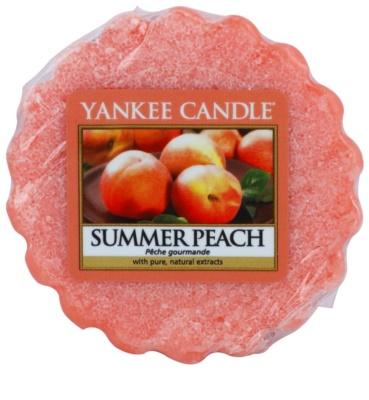 Yankee Candle Summer Peach cera para lámparas aromáticas
