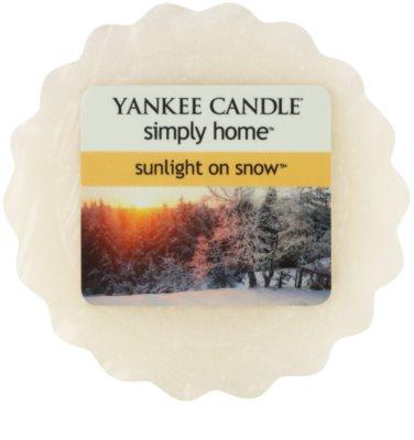 Yankee Candle Sunlight on Snow Wachs für Aromalampen