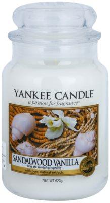Yankee Candle Sandalwood Vanilla illatos gyertya   Classic nagy méret