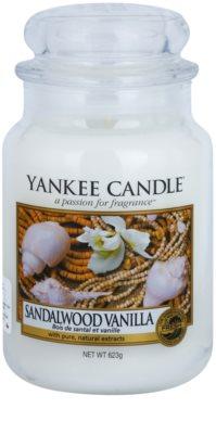 Yankee Candle Sandalwood Vanilla vela perfumado  Classic grande