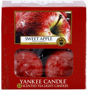 Yankee Candle Sweet Apple teamécses 2