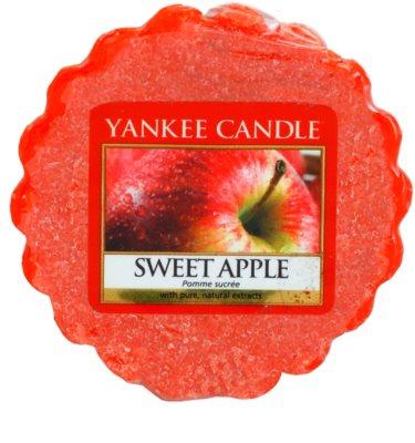 Yankee Candle Sweet Apple illatos viasz aromalámpába
