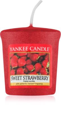 Yankee Candle Sweet Strawberry viaszos gyertya