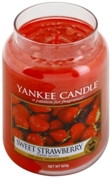 Yankee Candle Sweet Strawberry Duftkerze   Classic groß 1