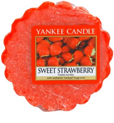 Yankee Candle Sweet Strawberry cera para lámparas aromáticas