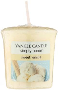 Yankee Candle Sweet Vanilla Votive Candle