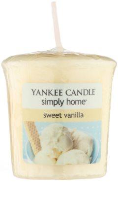 Yankee Candle Sweet Vanilla votivna sveča