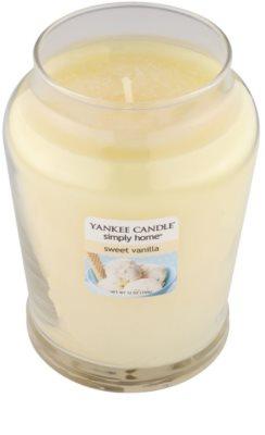 Yankee Candle Sweet Vanilla vela perfumada   mediano 1