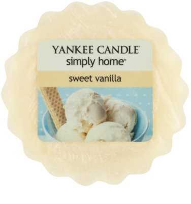 Yankee Candle Sweet Vanilla vosk do aromalampy