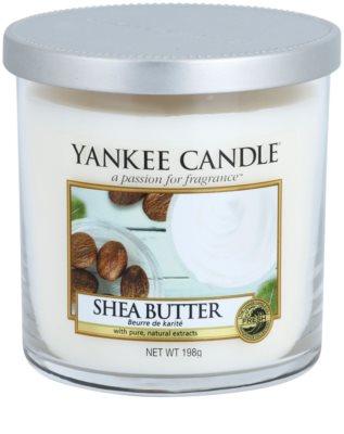 Yankee Candle Shea Butter vela perfumado  Décor pequena