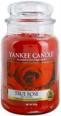 Yankee Candle True Rose ароматна свещ   Classic голяма