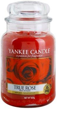 Yankee Candle True Rose świeczka zapachowa   Classic duża