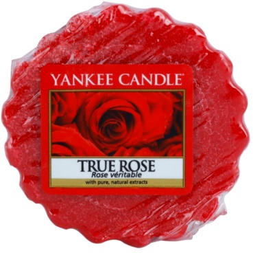 Yankee Candle True Rose cera para lámparas aromáticas