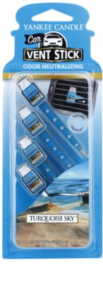 Yankee Candle Turquoise Sky ambientador para coche