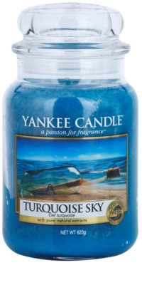 Yankee Candle Turquoise Sky Scented Candle  Classic Large