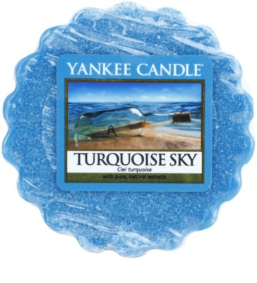 Yankee Candle Turquoise Sky illatos viasz aromalámpába