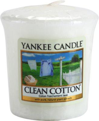 Yankee Candle Clean Cotton vela votiva