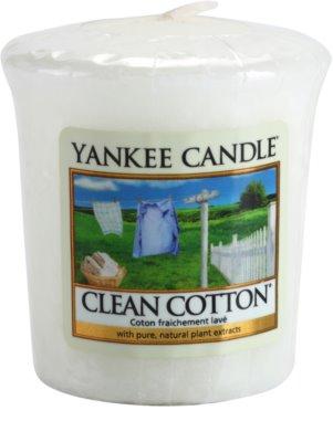 Yankee Candle Clean Cotton votivní svíčka