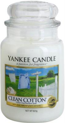 Yankee Candle Clean Cotton illatos gyertya   Classic nagy méret