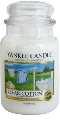 Yankee Candle Clean Cotton vela perfumado  Classic grande