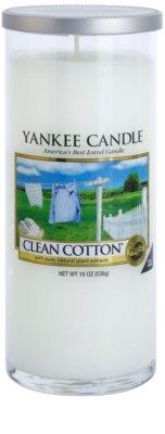 Yankee Candle Clean Cotton ароматна свещ   Декор голяма