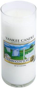 Yankee Candle Clean Cotton Duftkerze   Décor groß 1