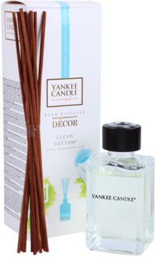 Yankee Candle Clean Cotton aroma difuzor cu rezervã  Décor