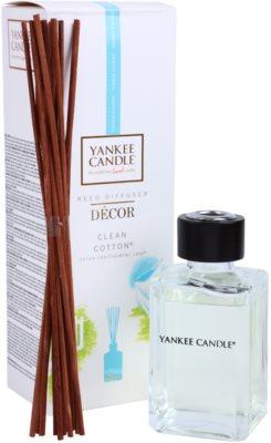 Yankee Candle Clean Cotton difusor de aromas con el relleno  Décor