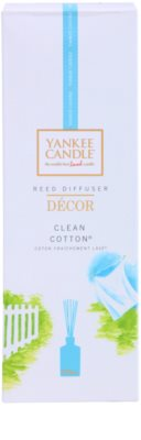 Yankee Candle Clean Cotton aroma difuzor cu rezervã  Décor 3
