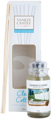 Yankee Candle Clean Cotton Aroma Diffuser mit Nachfüllung  Classic