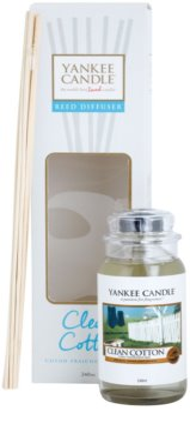 Yankee Candle Clean Cotton aróma difuzér s náplňou  Classic